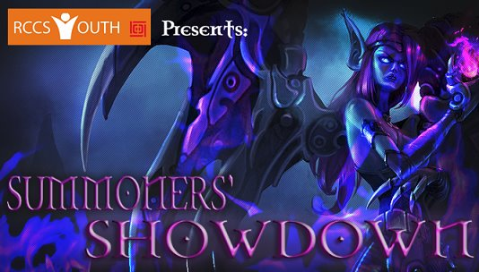 Summoners' Showdown: LoL Tourament Poster